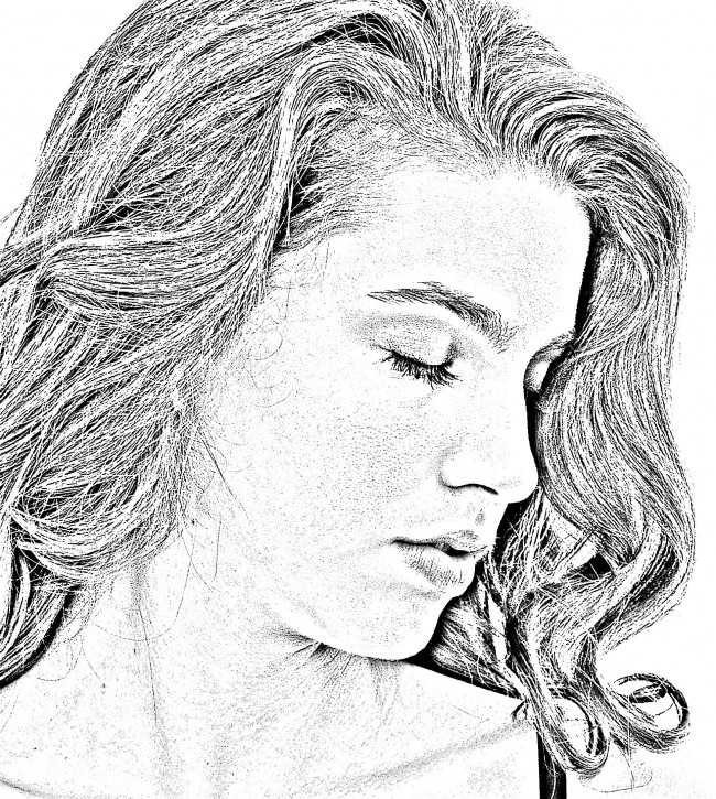 "Ashley ""pencil sketch"""